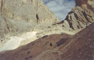 Klettersteig Plattkofel : Oskar schuster klettersteig langkofel dolomiten august