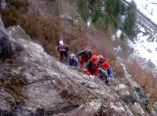 Klettersteig Schwarzwald : Klettersteig todtnau schwarzwald feb